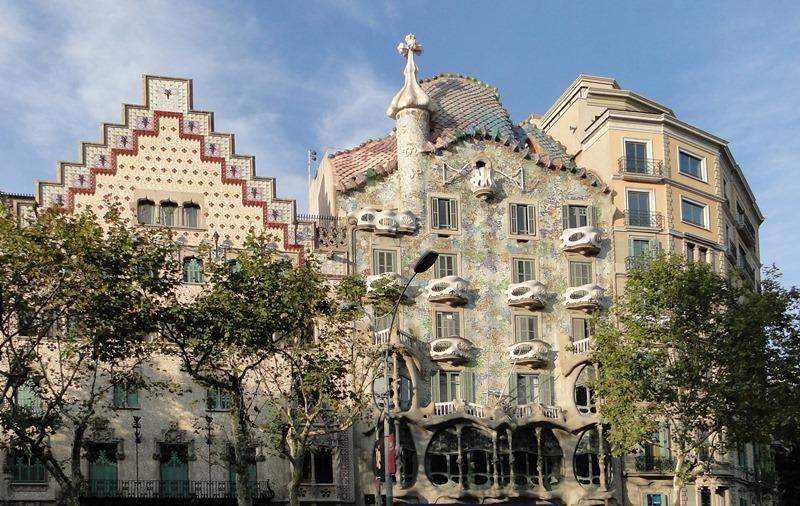 4 atracciones en la Barcelona de Gaudí