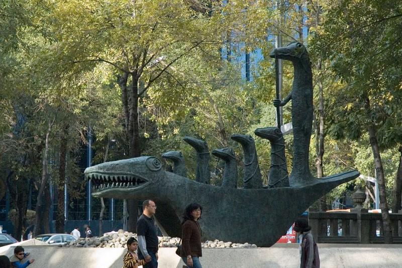Paseo de la Reforma, una forma práctica de conocer la Ciudad de México
