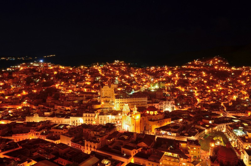 Guanajuato, una de las joyas coloniales de México