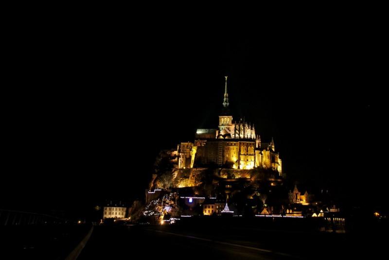 Monte Saint-Michel, la escenografía de un cuento clásico en medio del mar