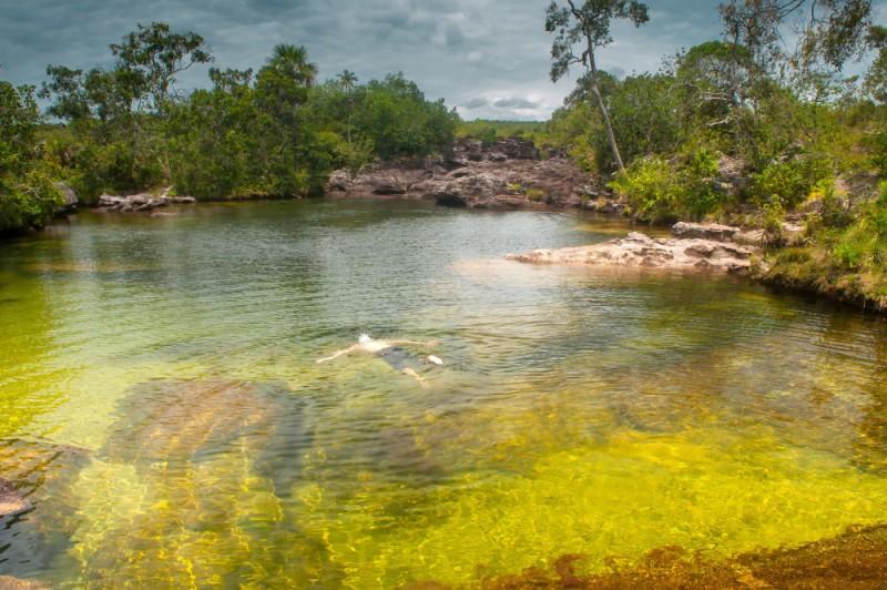 Situado dentro  la Sierra de la Macarena se encuentra el que quizás es el río más fotografiado del mundo y es que el río Caño Cristales