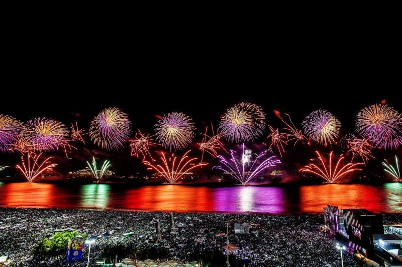 Copacabana, la playa ideal para recibir el Año Nuevo