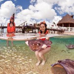 Snorkel en Cozumel, México, con Mantarrayas