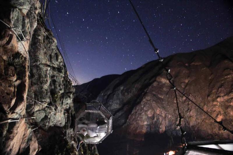 Hoteles en Cusco: un refugio colgante en la montaña