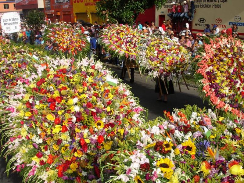 De visita por la Feria de las Flores de Medellín