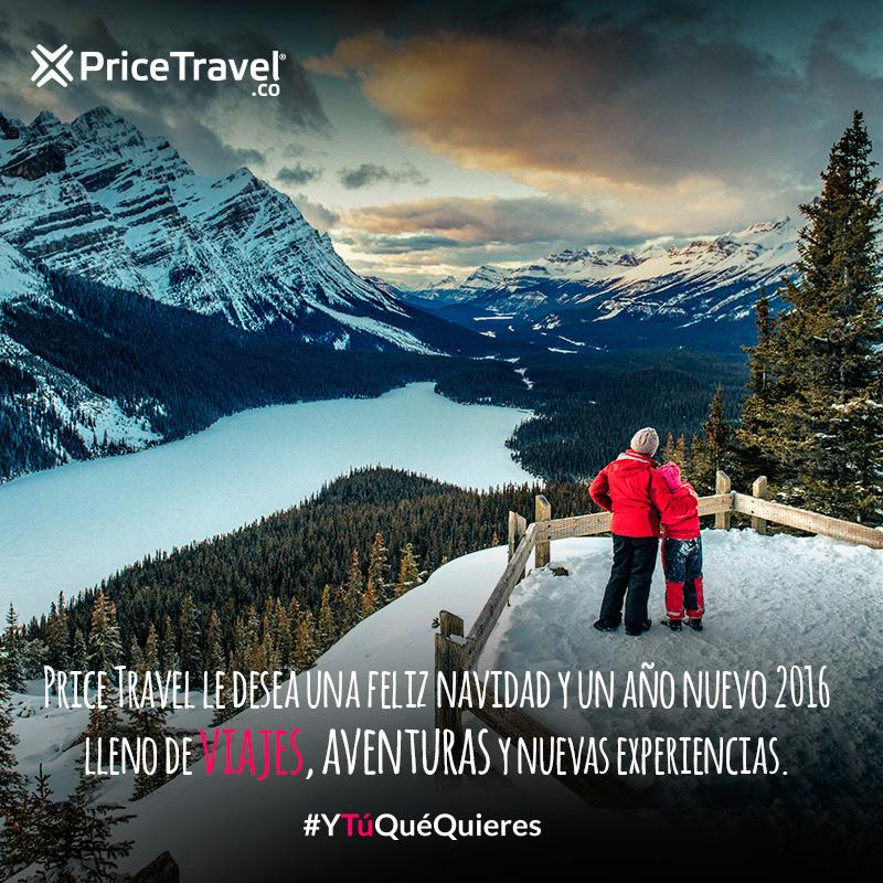 PriceTravel te desea feliz Año Nuevo 2016