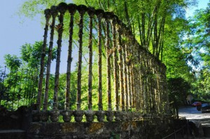 De visita por el jardín Las Pozas en Xilitla