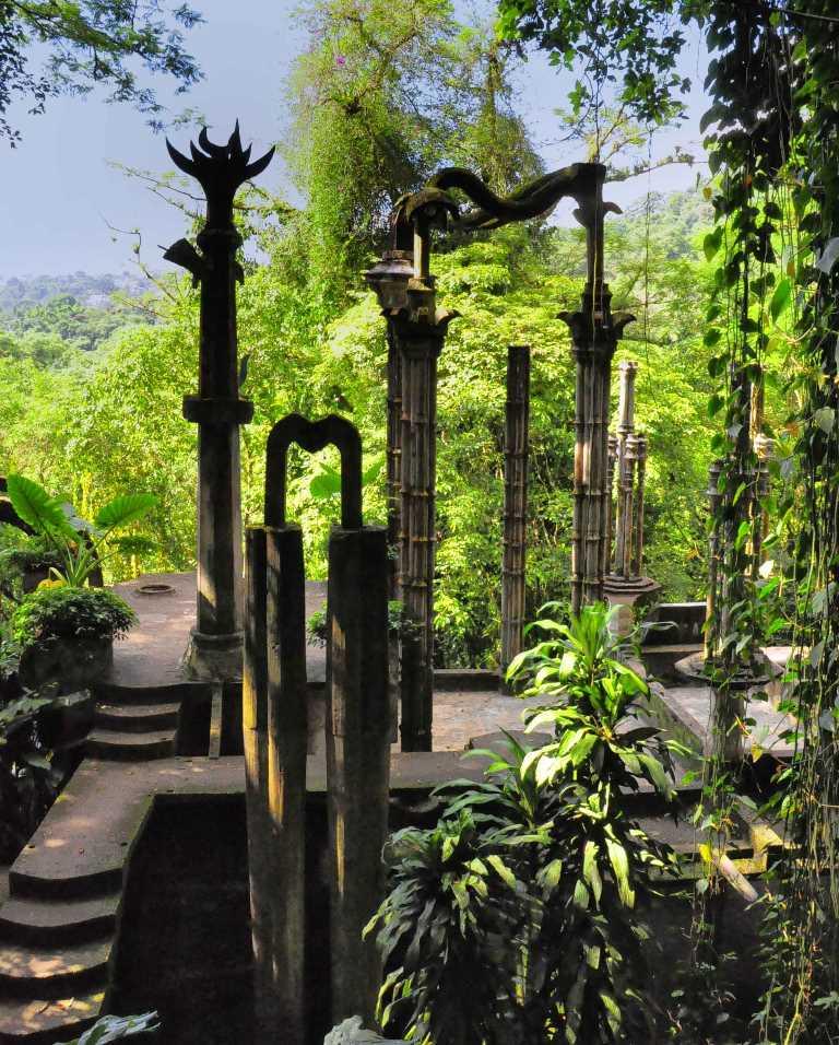 De visita por el jard n las pozas en xilitla for Jardin xilitla