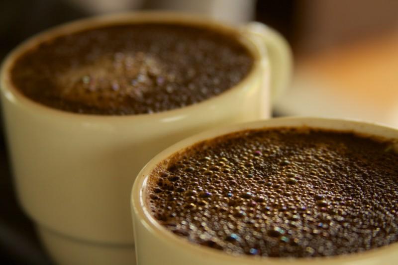 Espumeante café colombiano