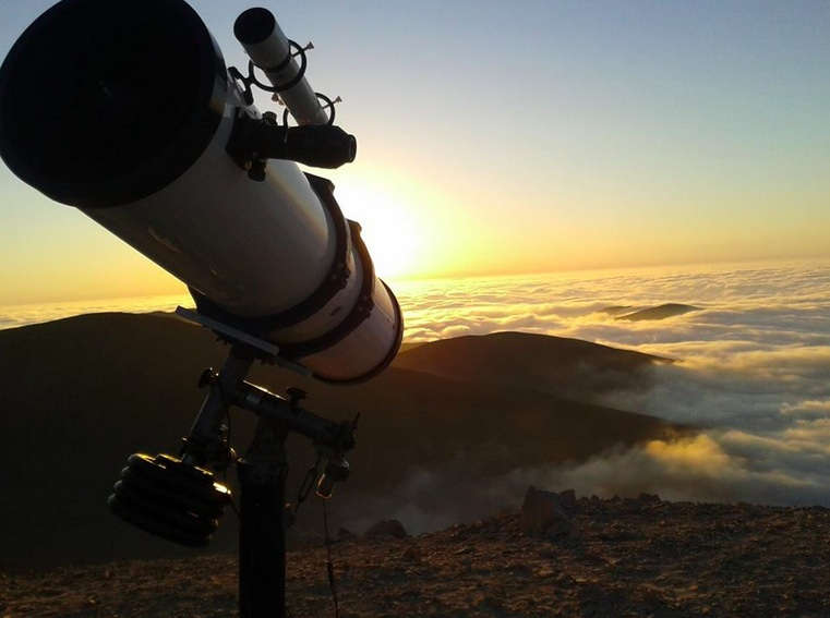 El Desierto de Atacama, un lugar ideal para contemplar el firmamento