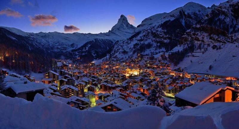 Zermatt, un centro de esquí ecológico en los Alpes suizos