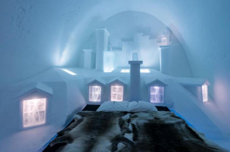 3 hoteles de hielo para disfrutar el invierno