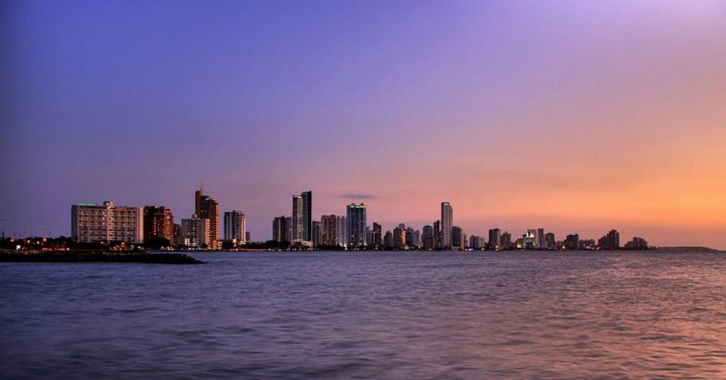 Bocagrande, el sector moderno de Cartagena de Indias