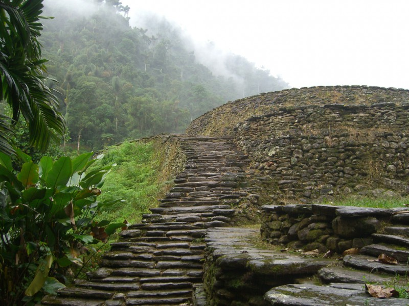 Ciudad Perdida en Colombia
