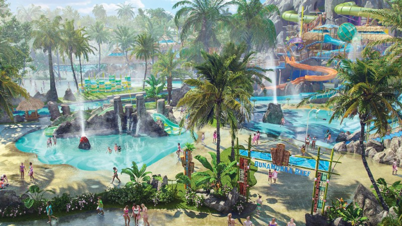 Runamukka Reef at Volcano Bay